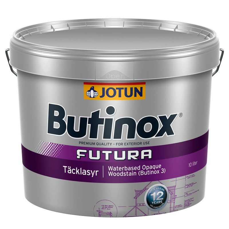 Butinox Futura 3 From Jotun Paints Opaque Woodstain For
