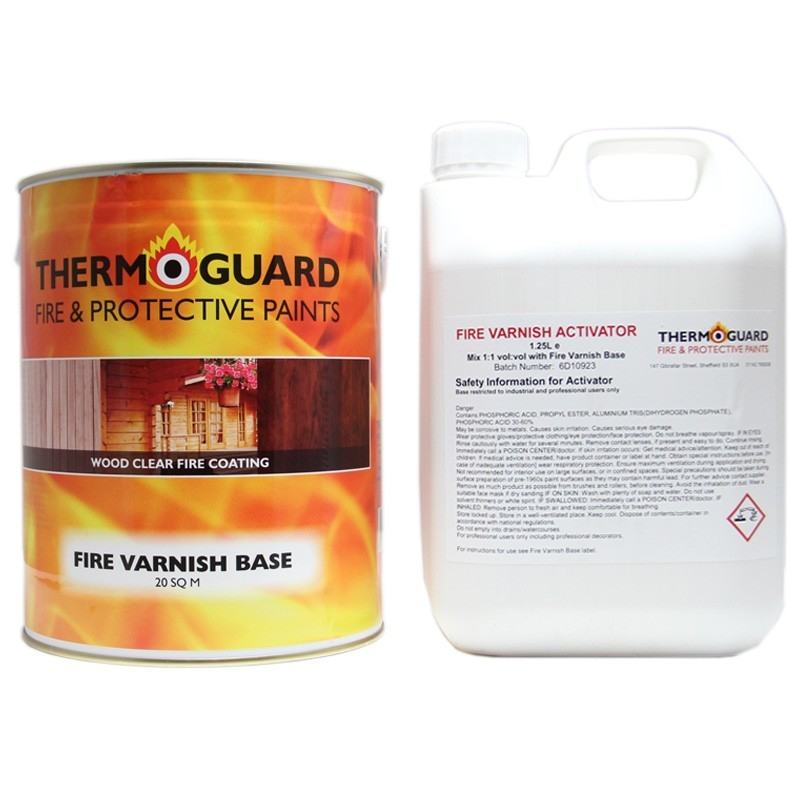 Thermoguard Fire Varnish Basecoat