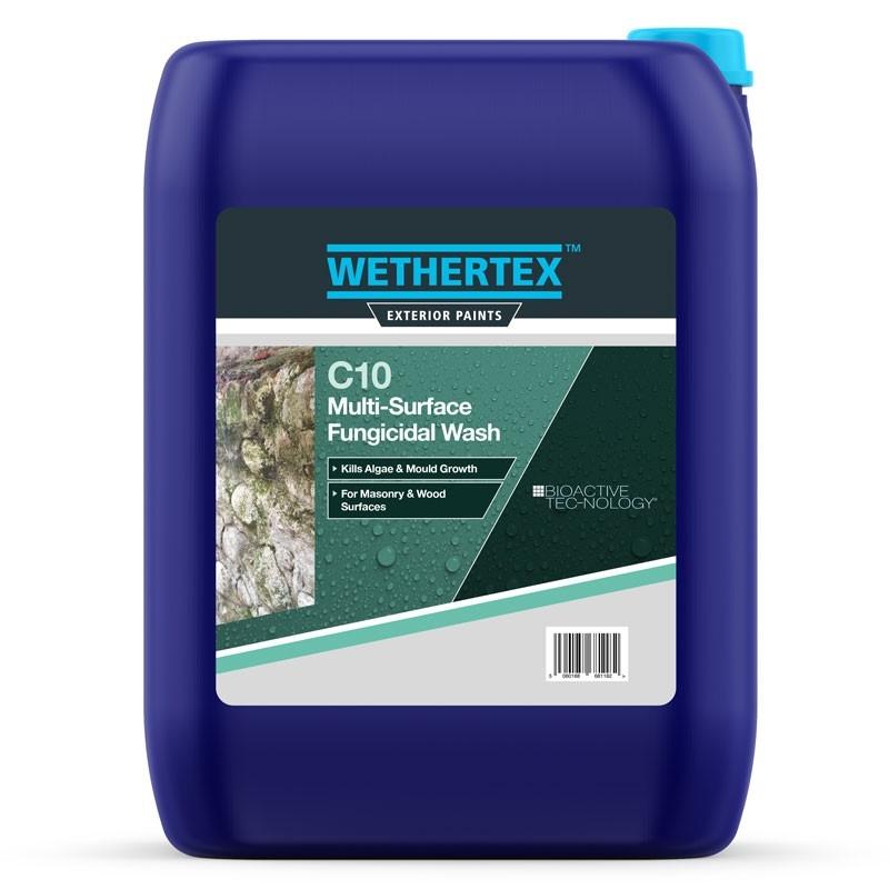 Wethertex C10 Multi-Surface Fungicidal Wash