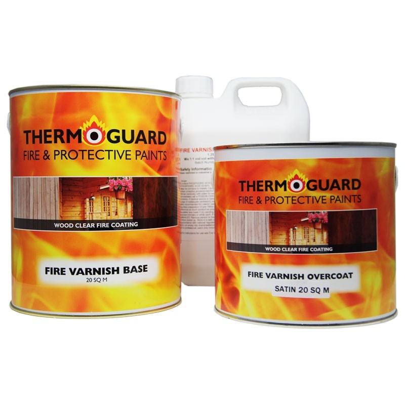 Thermoguard Fire Varnish 30 & 60min System Pack