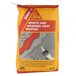 Sika Spritz and Bonding Coat Mortar