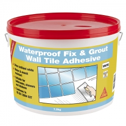 SikaCeram Waterproof Fix & Grout Wall Tile Adhesive