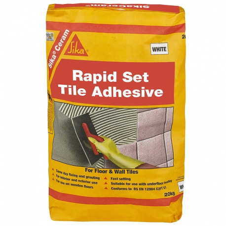 SikaCeram Rapid Set Tile Adhesive