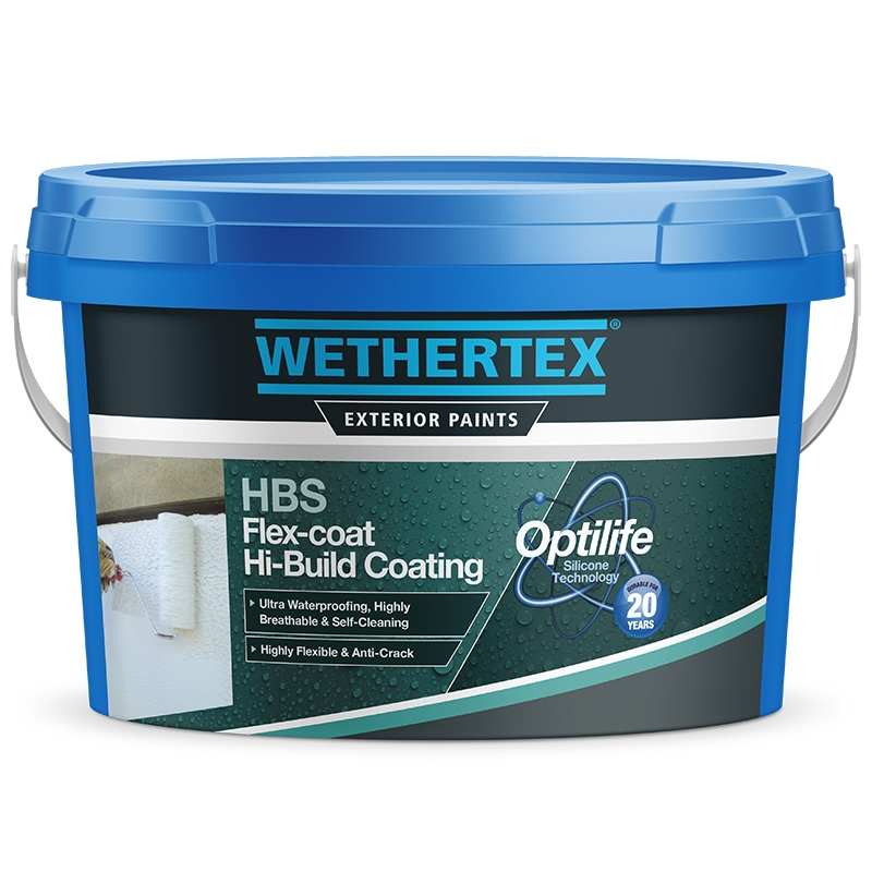 Wethertex Hbs Flex Coat Hi Build Coating Rawlins Paints
