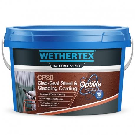 Wethertex CP80 Clad-Seal Steel & Cladding Coating