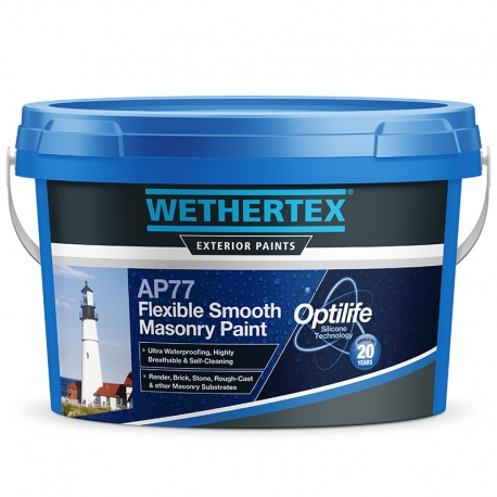 Wethertex AP77 Flexible Smooth Masonry Paint