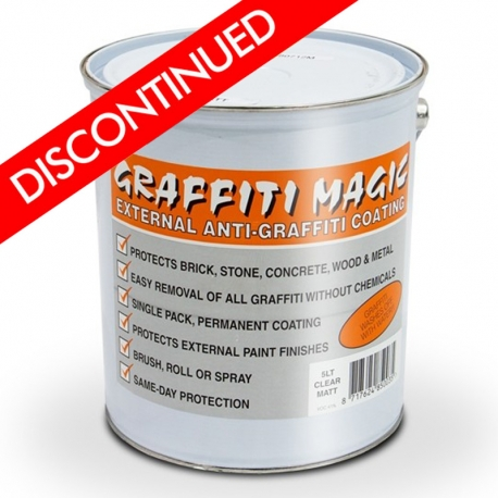 Graffiti Magic Clear Anti Graffiti Coating Rawlins Paints
