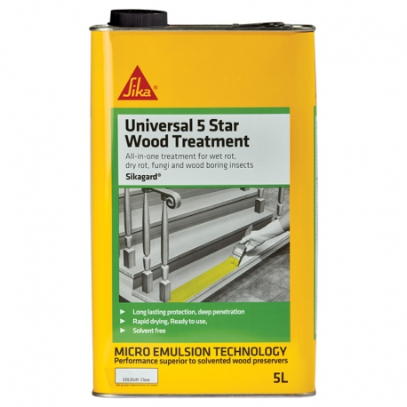 Sikagard Universal 5 Star Wood Treatment