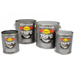 Rust-Oleum Heat Resistant Paint for Cars, Exhausts, BBQs
