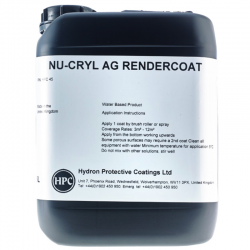 Nu-Cryl AG Render Coat Anti Graffiti Coating for Render