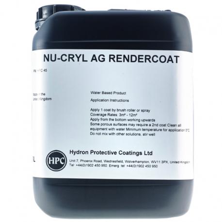 Nu-Cryl AG Render Coat Anti Graffiti Coating for Render