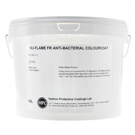 Nu-Flame FR Anti-Bacterial Colourcoat