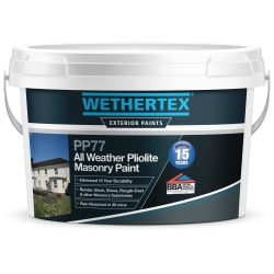Wethertex PP77 All Weather Pliolite Masonry Paint