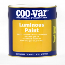 Coo-Var Luminous Paint Clear Protective Coat