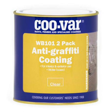 Coo-Var 2 Pack W/B Anti Graffiti Coating