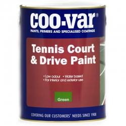 Coo-Var Tennis Court & Drive Paint