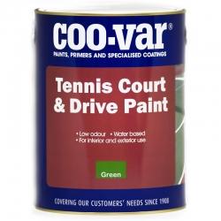 Coo-Var Tennis Court & Drive Paint