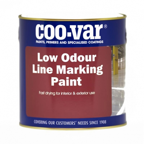 Coo-Var S/B Low Odour Road Line Paint