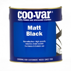 Coo-Var Matt Black (Solvent Based)
