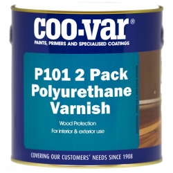 Coo-Var P101 2 Pack Polyurethane Varnish