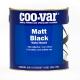 Coo-Var Matt Black (Water Based)