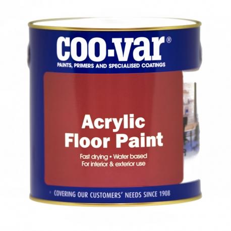 Coo-Var Acrylic Floor Paint