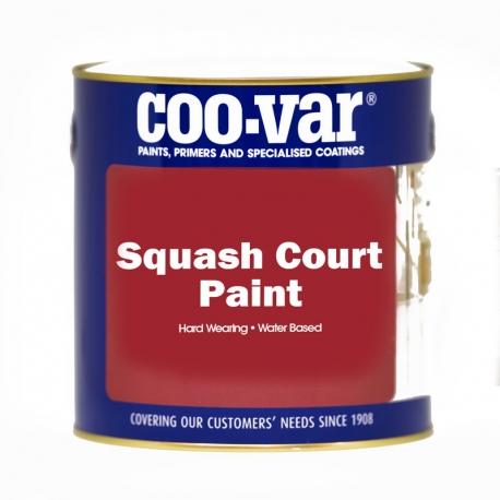 Coo-Var Squash Court Paint