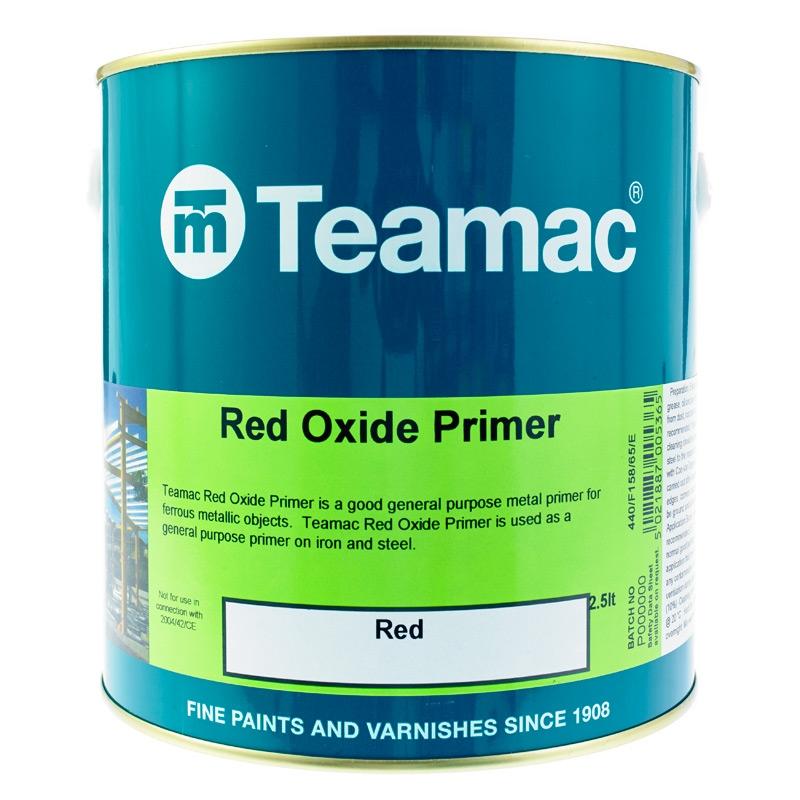 teamac red oxide primer rawlins paints. Black Bedroom Furniture Sets. Home Design Ideas