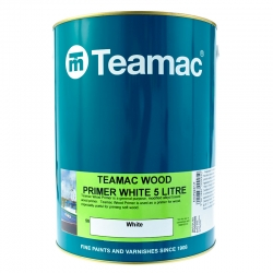 Teamac - Wood Primer White