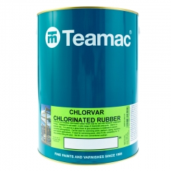 Teamac Chlorvar Chlorinated Rubber Paint