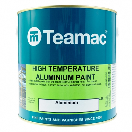 Teamac High Temperature Aluminium Paint