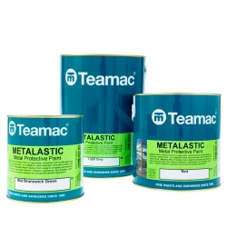 Teamac Metalastic Metal Protective Paint Colours