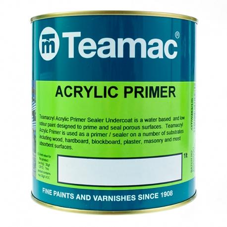 Teamac Teamacryl Acrylic Primer Sealer Undercoat