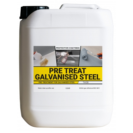 Bradite Pre-Treat Galvanised Steel