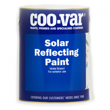 Coo-Var Solar Reflective Paint White
