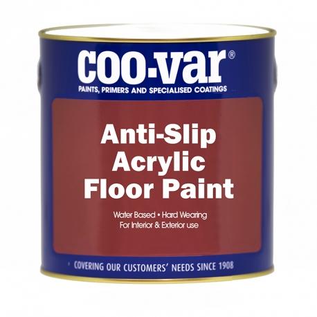 Coo-Var Anti-Slip Acrylic Floor Paint