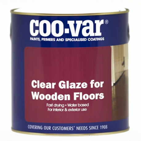 Clear Glaze for Wooden Floors