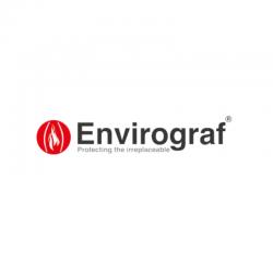 Envirograf Smoke Detector with Base & Terminals
