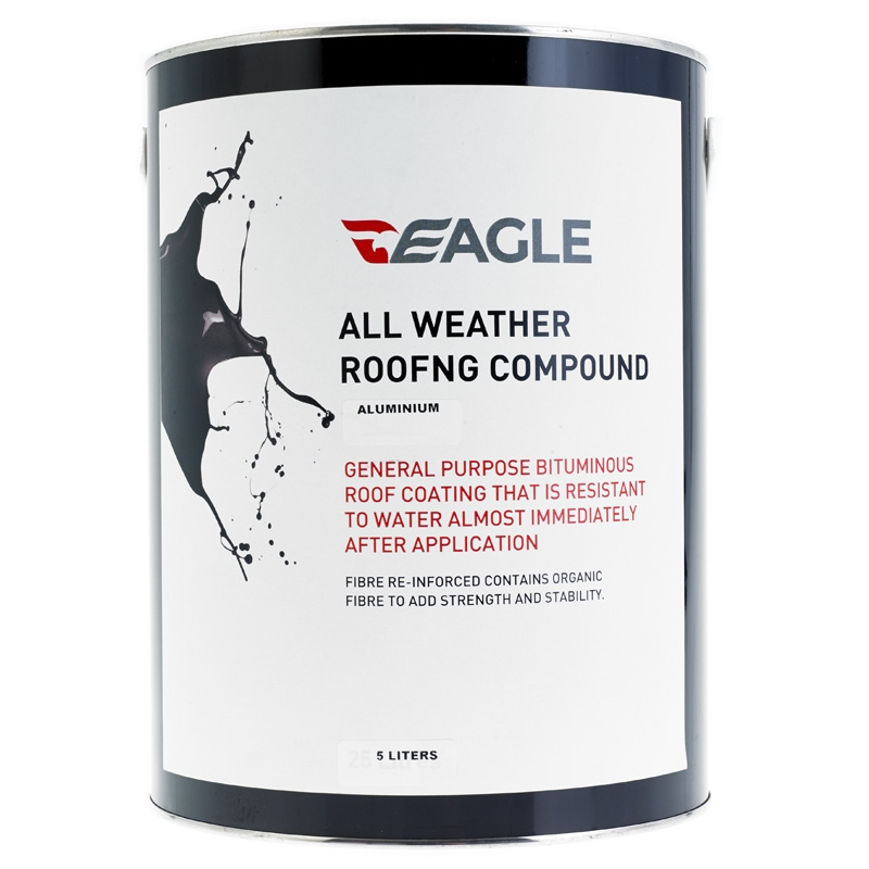 Eagle All Weather Roof Coat Aluminium