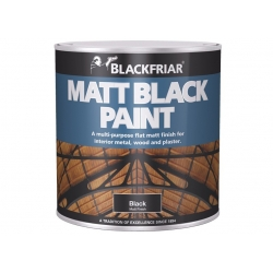 Blackfriar Matt Black Paint