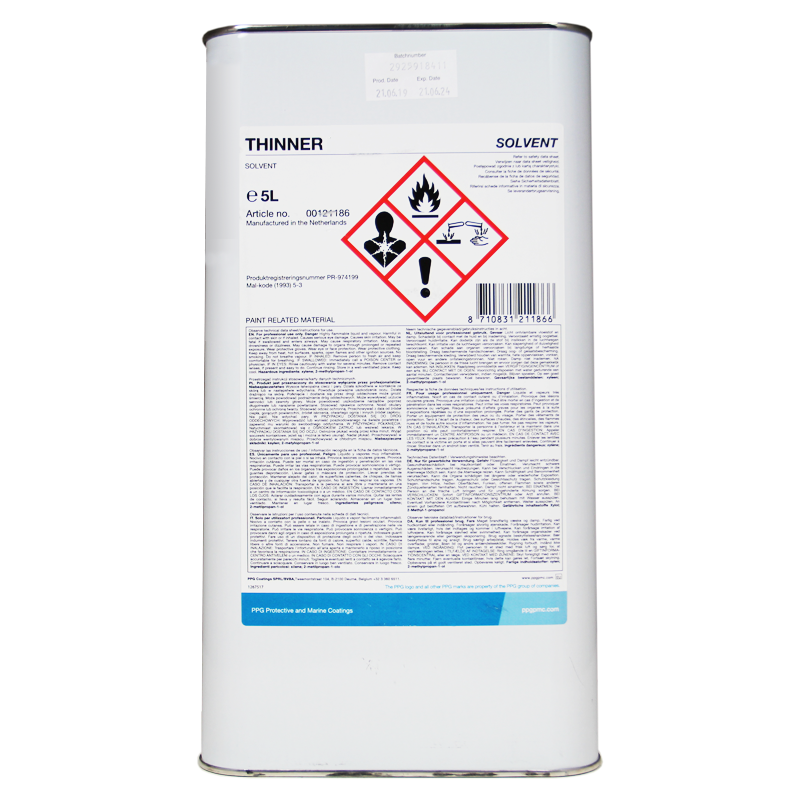 Ppg Thinner 60 12 Paint Thinner Rawlins Paints