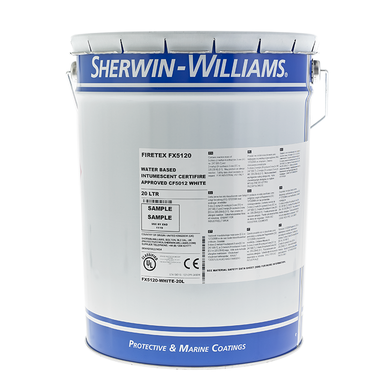 Sherwin Williams Firetex Fx5120 Rawlins Paints Coatings