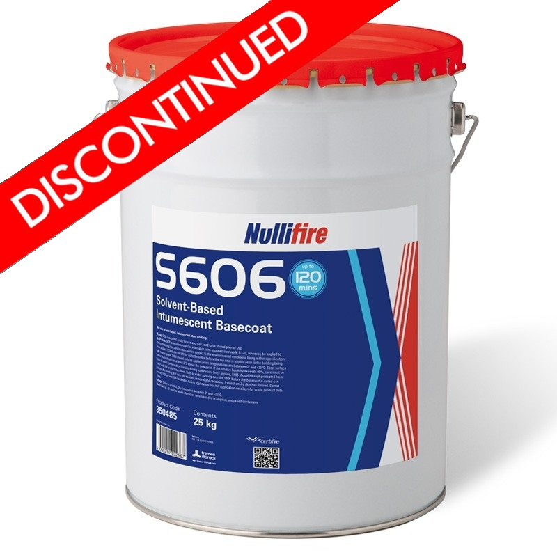 Nullifire S606 Solvent-Based Intumescent Coating