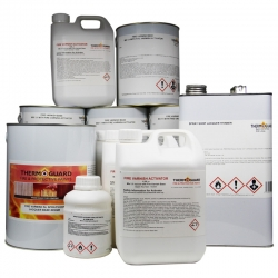 Thermoguard Fire Varnish Sprayshop Lacquer System