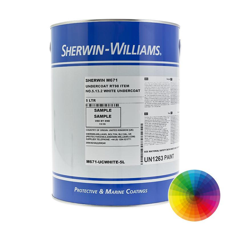 Sherwin Williams Ken Kromik 671 Marine Use Undercoat Tiecoat