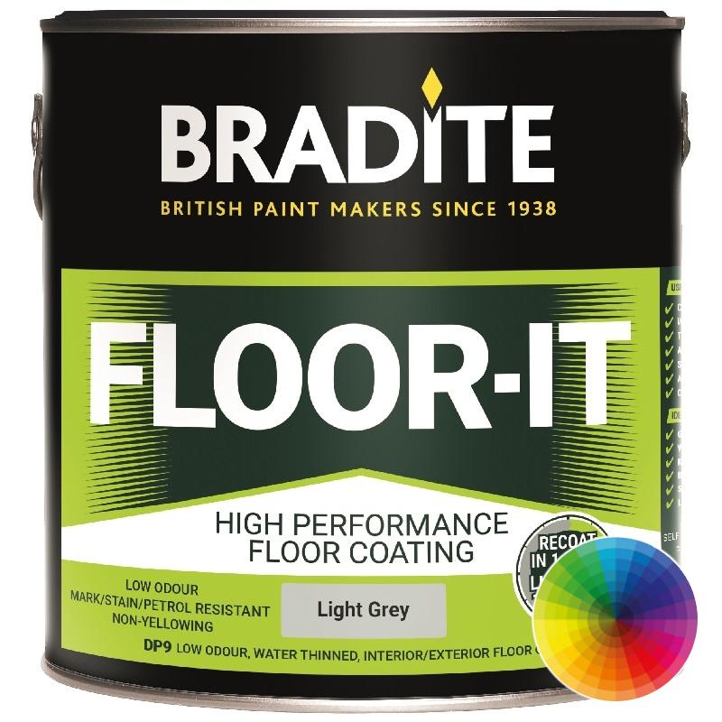 Bradite Floor It Garage Floor Paints Anti Slip