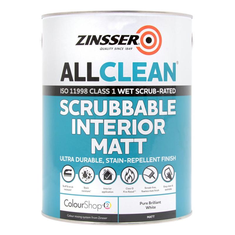 Zinsser AllCoat Exterior Satin | 200+ Colours | Rawlins Paints | 800x800