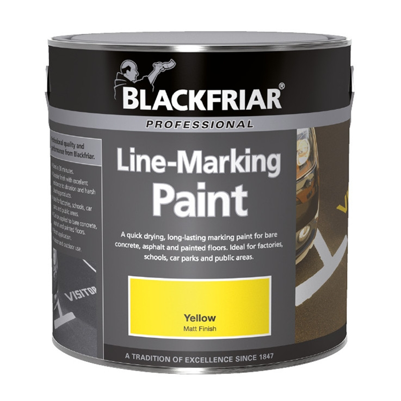 Blackfriar Professional Line Marking Paint Quick Drying