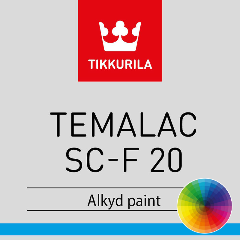 Tikkurila temalac sc f 20 metal paint rawlins paints - What temperature can you paint outside ...