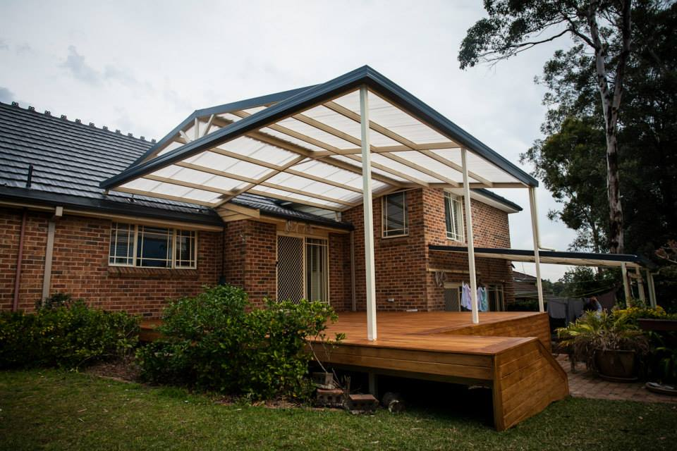 Protecting a steel exposed extension at home